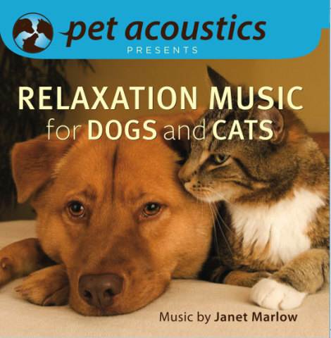 Relaxation Music For Dogs & Cats CD by Pet Acoustics