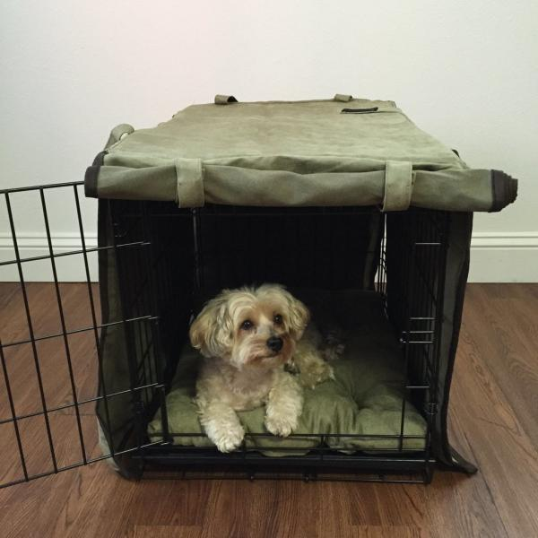 Luxury Dog Crate Cover by Animals Matter