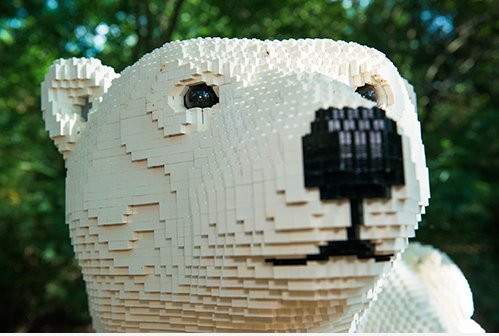 Lego Creations Standing In For Live Zoo Animals