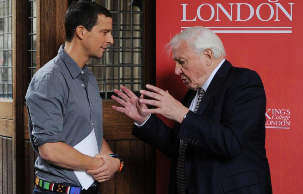 Naturalist Attenborough v. Adventurer Bear Grylls