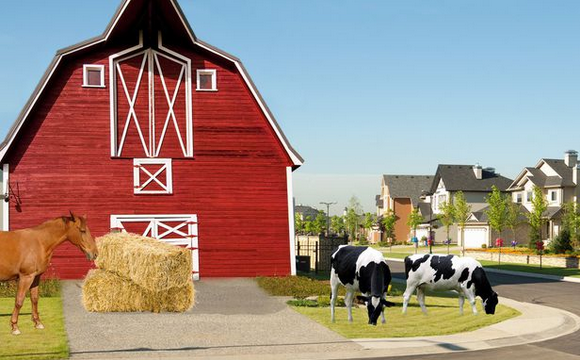 Agrihoods: Replacing Boomer Goif Courses With Millennial Farms