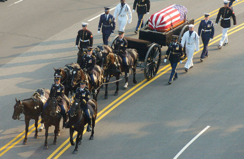 President Ronald Reagan's Funeral Procession