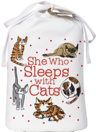 (Update  This shirt is no longer available. perhaps this adorable How To  Sleep With Cats Shirt or this Pawsitively Exhausted Shirt will be a good ... ad48b6950