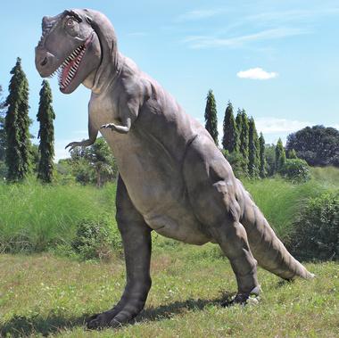 Jurassic-Size T-Rex Dinosaur Statue
