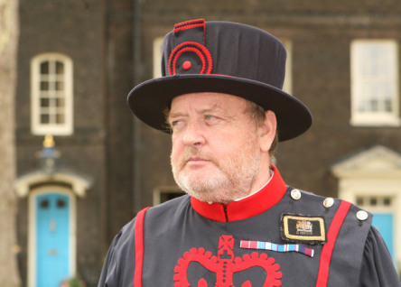 Beefeater at the Tower of London -- the Ravenmaster