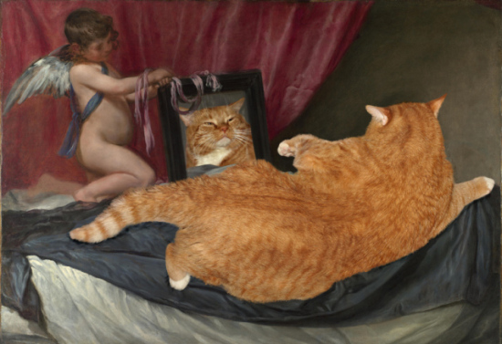 Venus At Her Mirror according to FatCatArt.ru