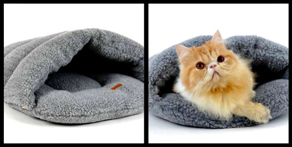 9fdbc2b4107e ... Luxury Pet Sleeping Bag Bed. Wild for Life Pet Beds  Burrowing pockets  for small animals