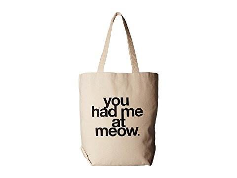 Shopping tote for cat lovers