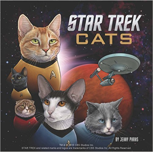 Star Trek Cats Cover