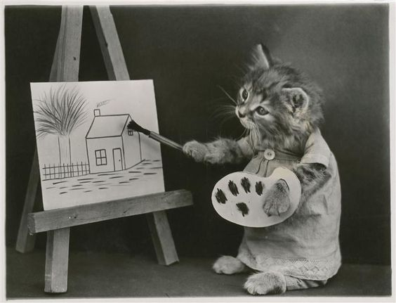 The Artistic Kitten
