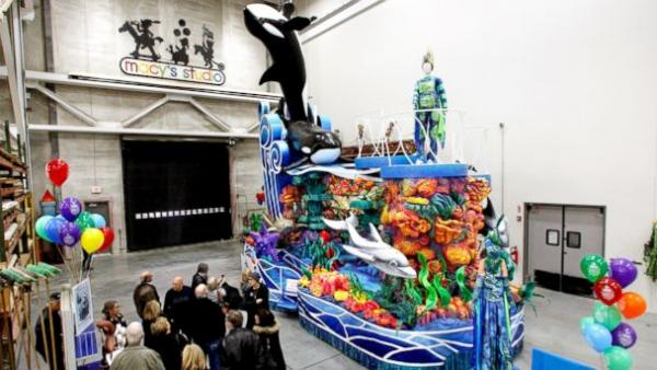 SeaWorld's Orca Float