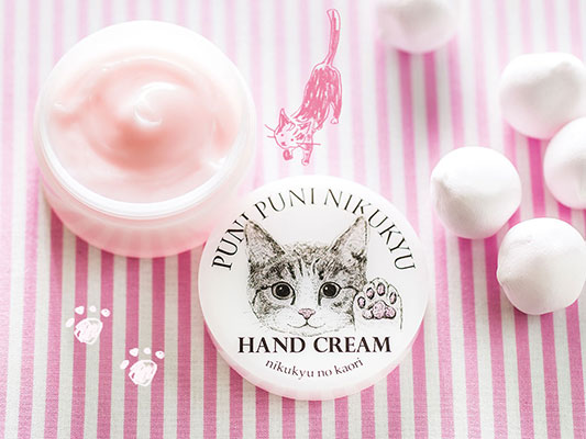 Cat's Paw Scented Hand Cream (Image via Felissimo)