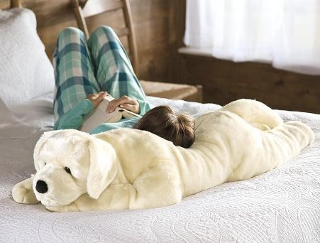 Yellow Labrador Retriever Body Pillow