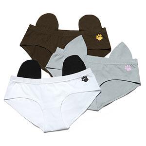 Animal Character Ladies' Underwear