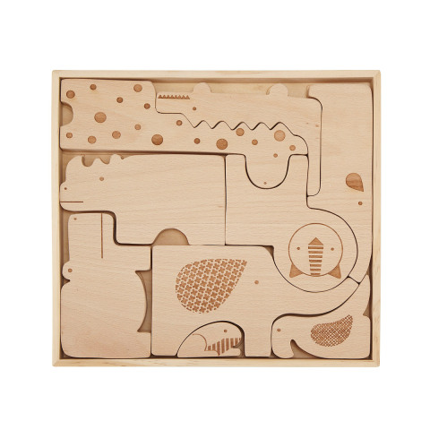 Safari Puzzle Blocks