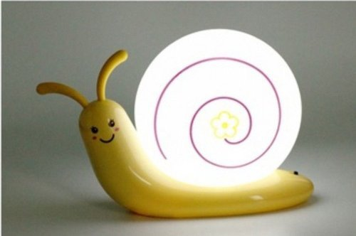 Snail LED Wall Night Light