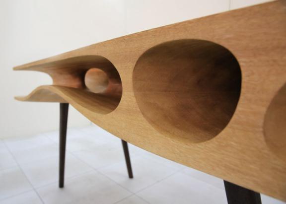 CATable by Ruan Hao (Image via De Zeen)
