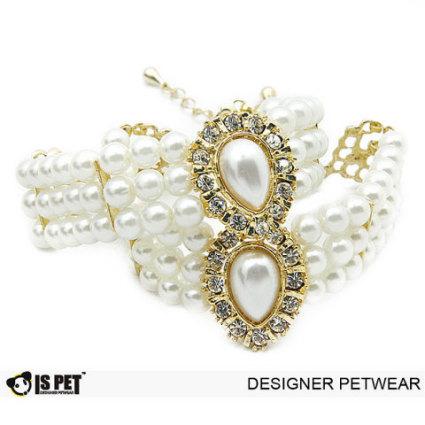 Ida Pearl Dog Necklace