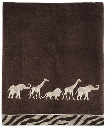 Animals on Parade Towels -- Bath Towel