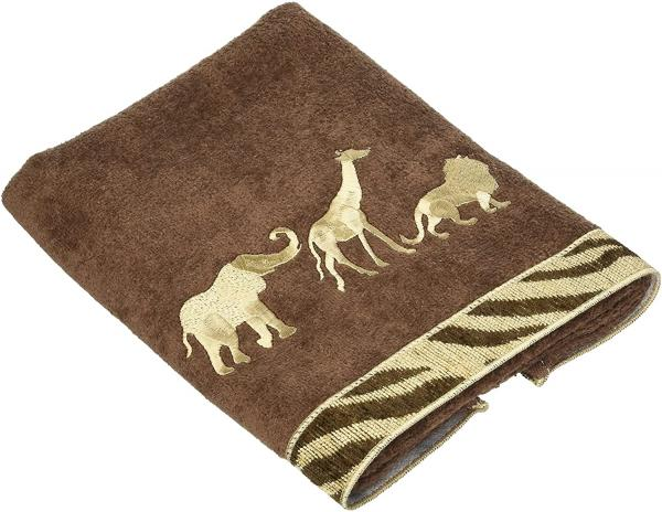 Animals on Parade Towels -- Hand Towel