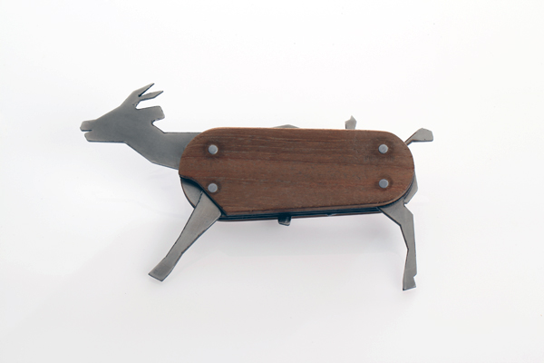 Swiss Army Zoo? The Animal Pocket Knife is Edgy Eco Art