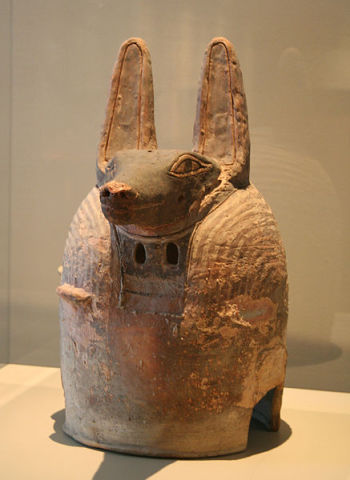 Anubis Mask (Photo by Einsamer Schütze/Creative Commons via Wikimedia)