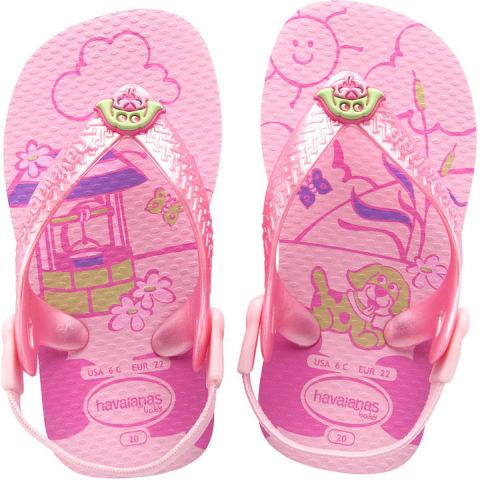 Pink Baby Pet Flip Flops