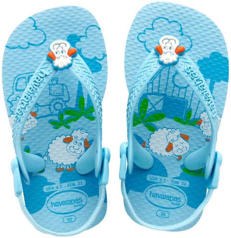 Blue Baby Pet Flip Flops