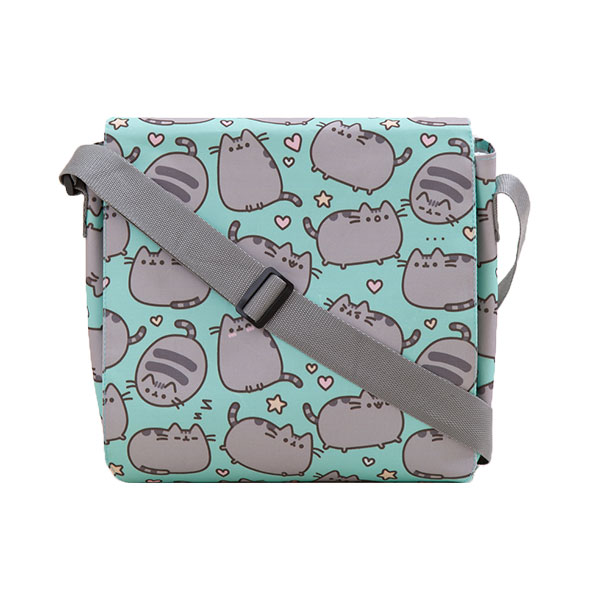 Pusheen Frolicking Messenger Bag