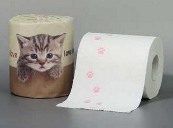 Japan's Cutest Bathroom Tissue For Those Who Just Love Cats
