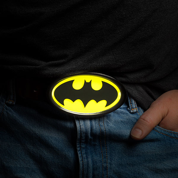 Batman Light Up Buckle