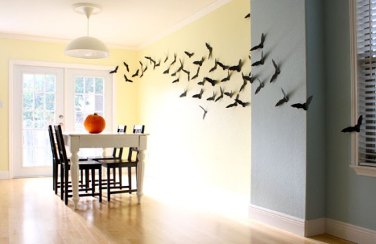 A Wall Of Bats