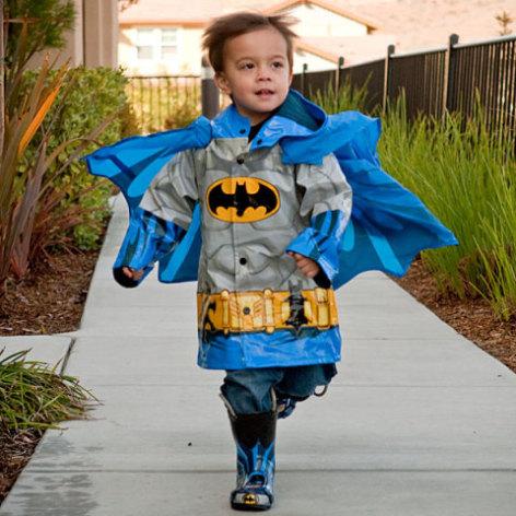 Kids' Superhero Raincoat - Batman