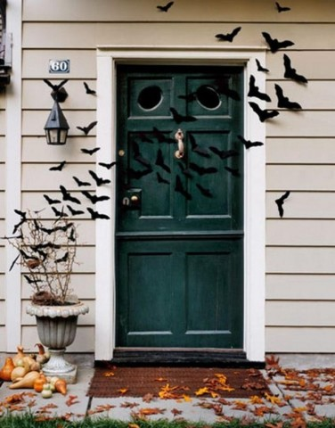 Flying Bats For Your Doorway