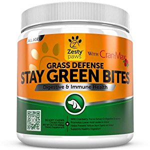 Zesty Paws Grass Defense Stay Green Bites