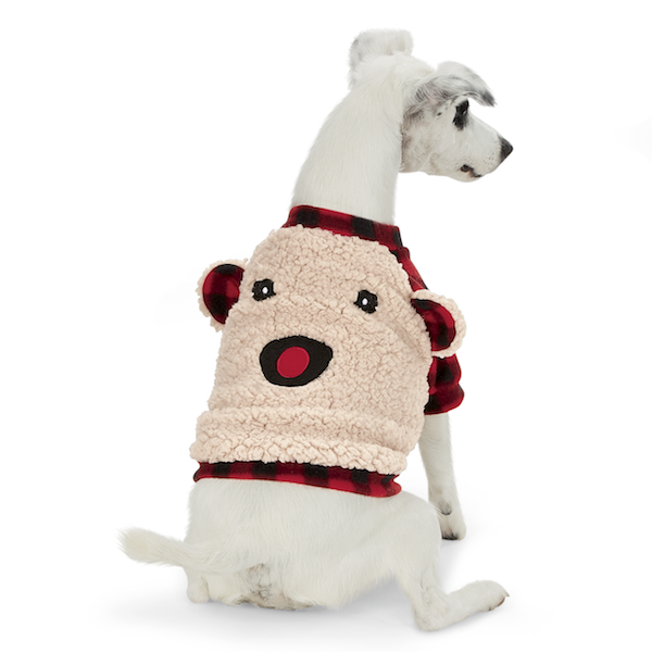 Cozy Sherpa Flece Pullover for Dogs
