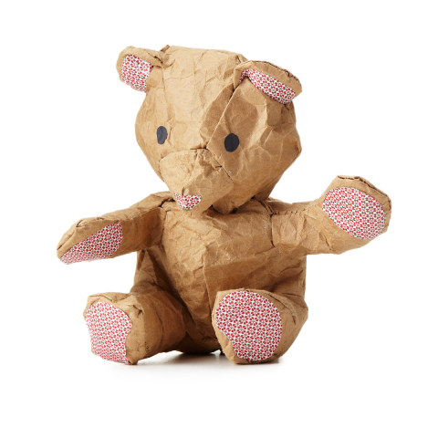 Crumple -- the Make-it-Yourself Bear