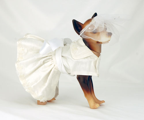 Veil And Headband Are Included Match The Dress This Doggie Wedding Is Available From Gilded Paw For A Special Price On 91