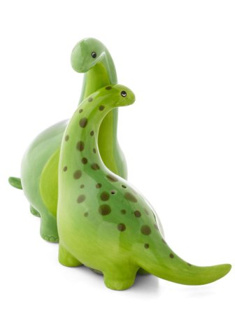 Brontosaurus Salt and Pepper Shakers