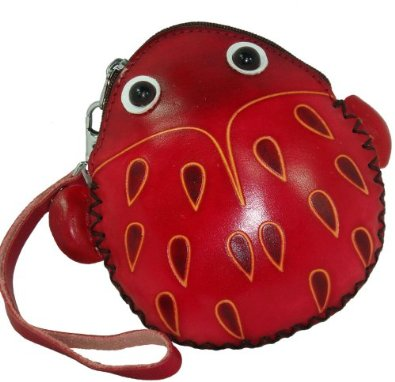 Red Beetle Change Purse