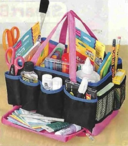 Use A Basket Or Caddy To Hold Supplies