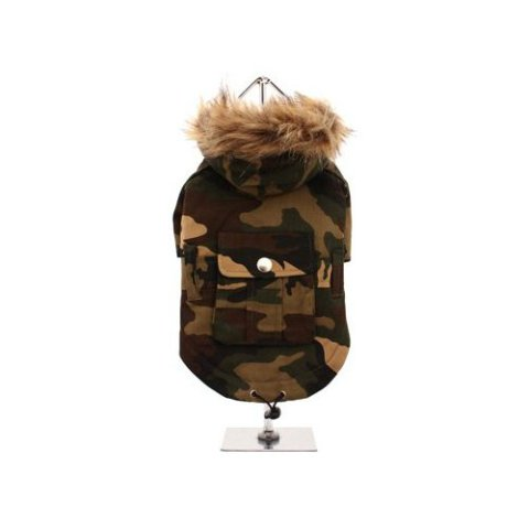 Green Camouflage Parka