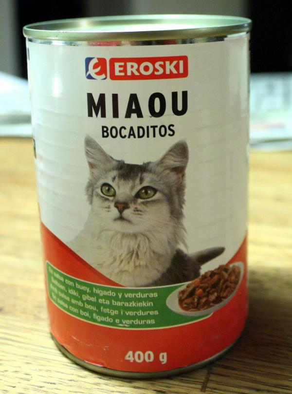Amazing International Cat Food Cans - Spain