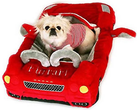 Red Furrari Pet Bed