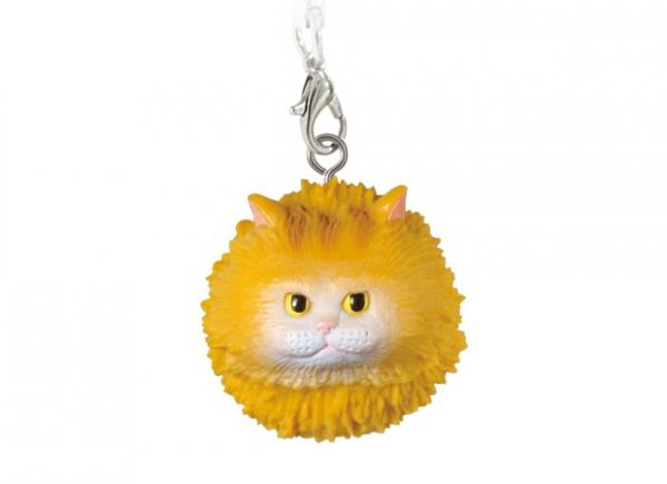 Floating Cat Figure phone strap charms
