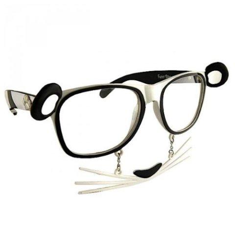 Panda Mask Sun-Staches Glasses