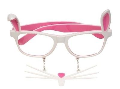 Rabbit Mask Sun-Staches Glasses