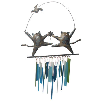 Kitty Wind Chimes