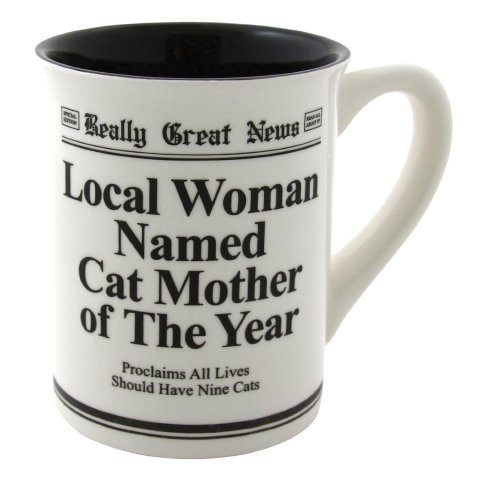 Cat Mother of the Year Mug