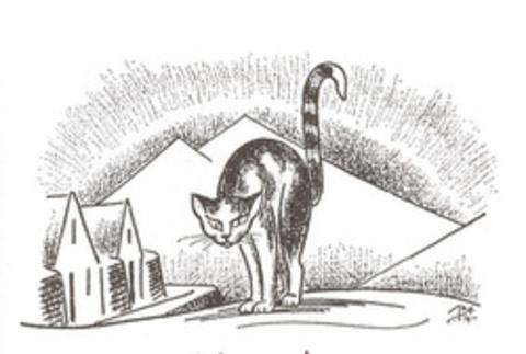 Yule Cat (Image via Jodminjasafn)